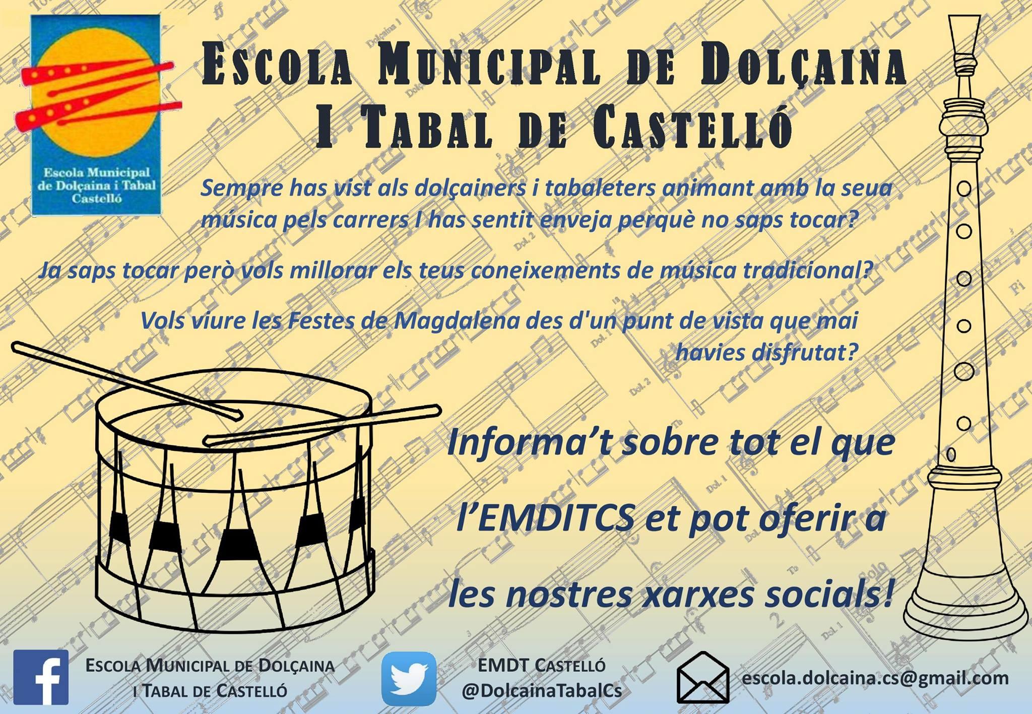 Trobada Veïnal de Dolçaina i Tabal a Castelló